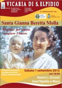 Locandina incontro con Gianna Emanuela Molla