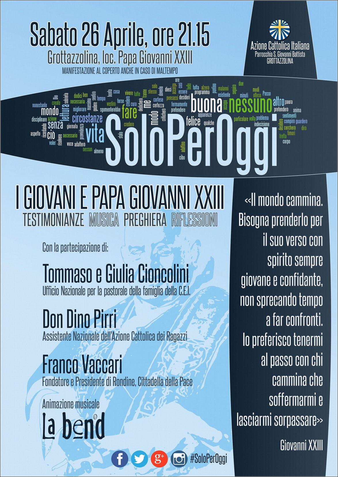 SoloPerOggi_manifesto