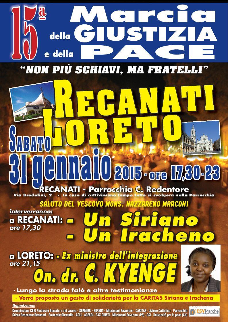 Manifesto marcia -2015